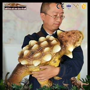 DW-734 Customized Small Size Animatronic Dinosaur Baby For Kids Interactive