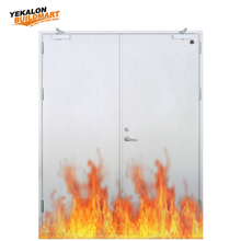 Yekalon STD-028 certification security steel fire rated door