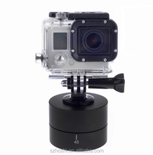 360 Degrees 60 min Pan Rotating Time Lapse Stabilizer Tripod for Gopro Hero 5 4 3+ 3 2 Sjcam Xiaoyi Action Cameras