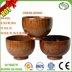 2017 Cheap Teak Olive Wholesale Salad Wooden Bowls For Sales
