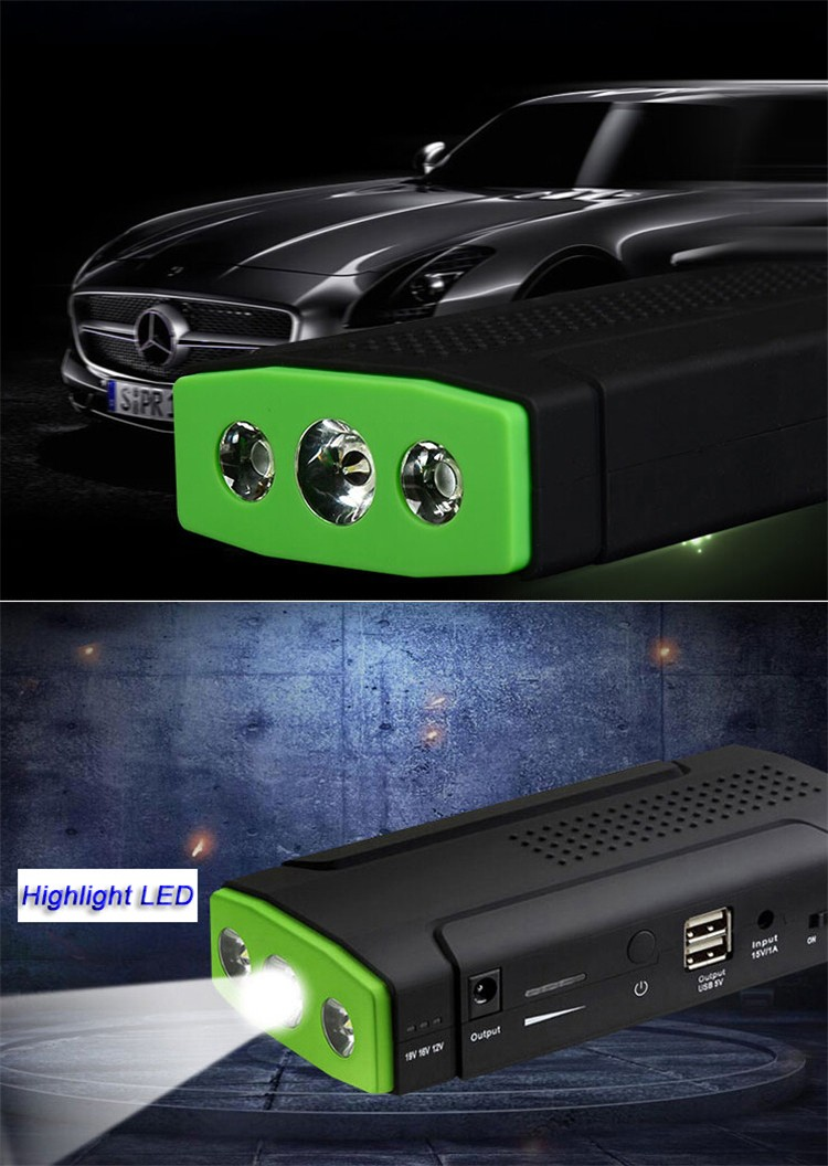 13600mAh battery big capacity 200A jump starter car power bank for sale