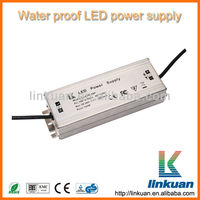 Waterproof power supply 24v 100w led driver