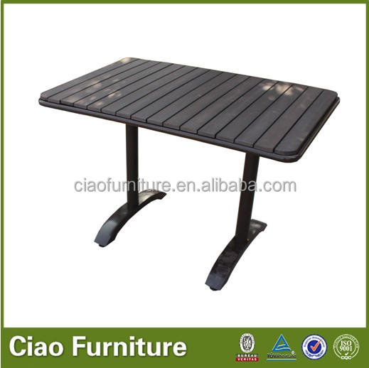 Cheap rectangle bistro table CF646T