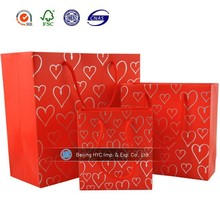 shopping and gift packaging Online wholesale Multicolor paper gift bag