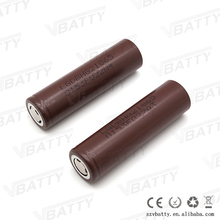 Fast shipping 8650 vape batteries lg hg2 18650 3000mah 3.7v li ion battery