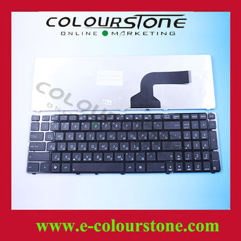 Original Laptop Keyboard For Asus K52 N50 G60 RU Layout