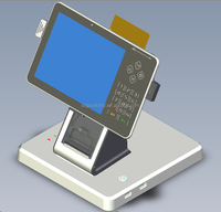 Android touch screen pos system with quad-core cortex-A9 processor for bank-----Gc056