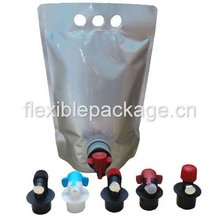 valve bag in box/wine bib/liquid package
