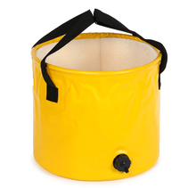 Foldable Folding PVC Water Leak-proof Buckets Collapsible Bucket for Hiking Beach Camping Fishing Boating