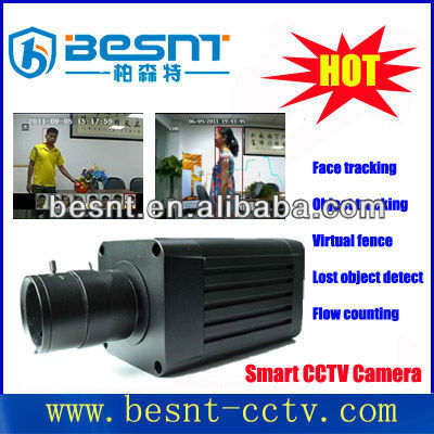 Besnt Face Recognition cctv camera hd 600TVL Face Detection/Tracking Smart Box CCTV Camera BS-SM08A