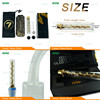 Original 7pipe twisty blunt wholesale, hot selling in alibaba high quality smoking accessories seven pipe twisty glass blunt