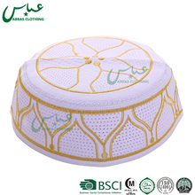 Wholesale crochet muslim prayer cap with factory price nation of islam hats muslim computer caps