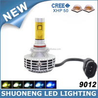 G6 C ree 12V 24V Accessiories Fanless New Products LED 3000lm Car 9012 Head Light