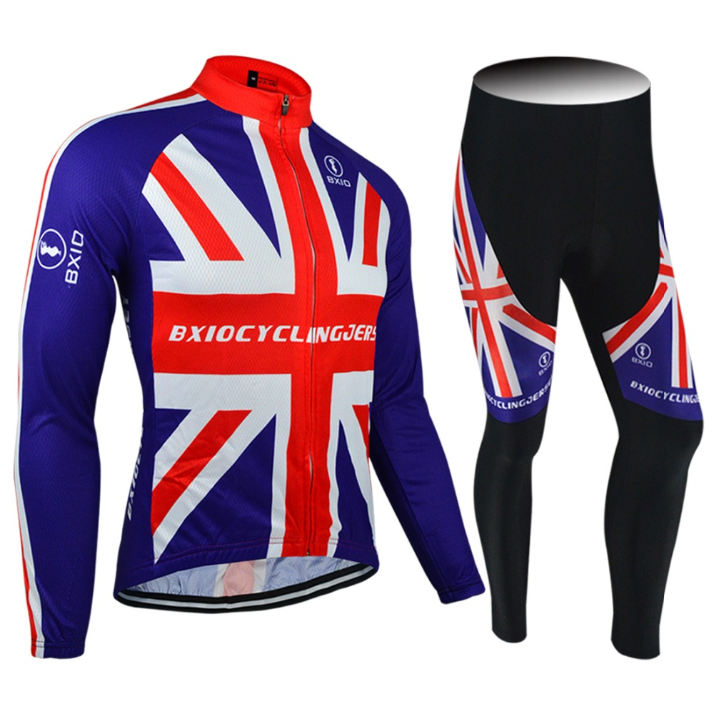 BXIO Long Sleeve Pro Cycling Jerseys Summer Pant Without Bibs Abbigliamento Ciclismo Estivo Roupa De Ciclismo BX-0109RB071NB