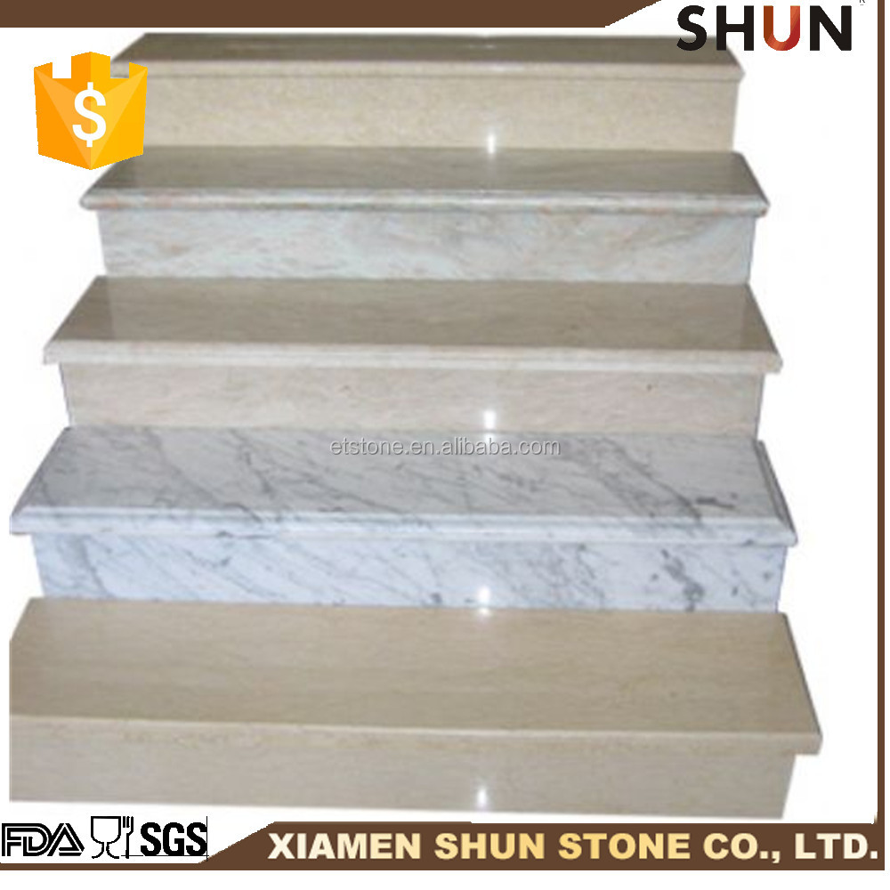 New design stone tiles , Stair treads lowes for step,Price marble stairs and granite