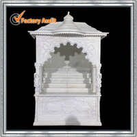White Marble Mandir For Home (YL-V006)