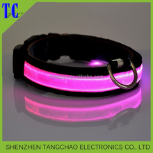 2016 Hot selling led dog leash/dog collar discount