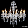 Home Hall Crystal Pendant Chandelier Modern