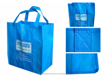 Customized Silkscreen Printing Handle Style Recycle Non Woven shopping tote Bag