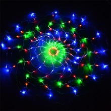 European Christmas Colorful 120 LED Net Lights For Party Decoration 220V EU Plug TK1333
