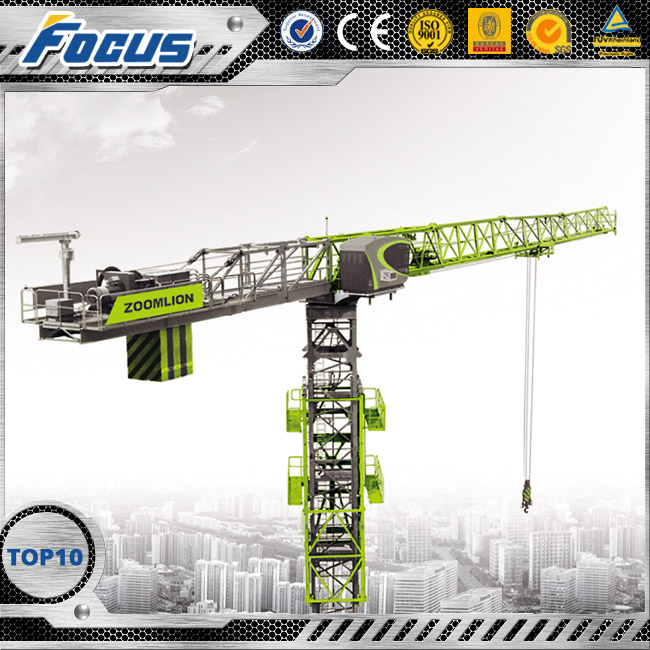 TCT5510-6G Zoomlion Topless tower crane with electrical control system