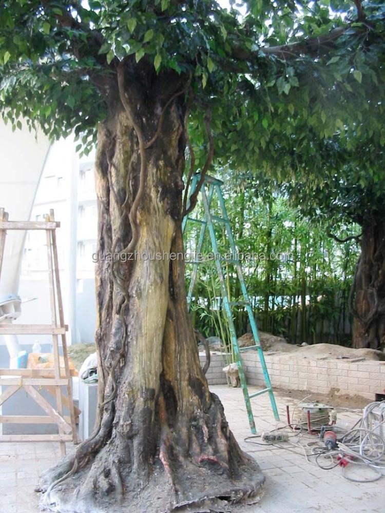 Q112833 artificial rboles de abedul blanco tronco de for Arbol artificial decoracion