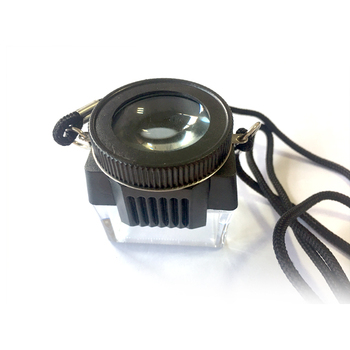 Professional camera 10x magnifier flat magnifier for glass magnifier