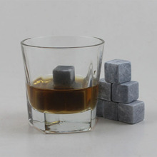 food grade plastic ice cube whiskey stone Natural Soapstone