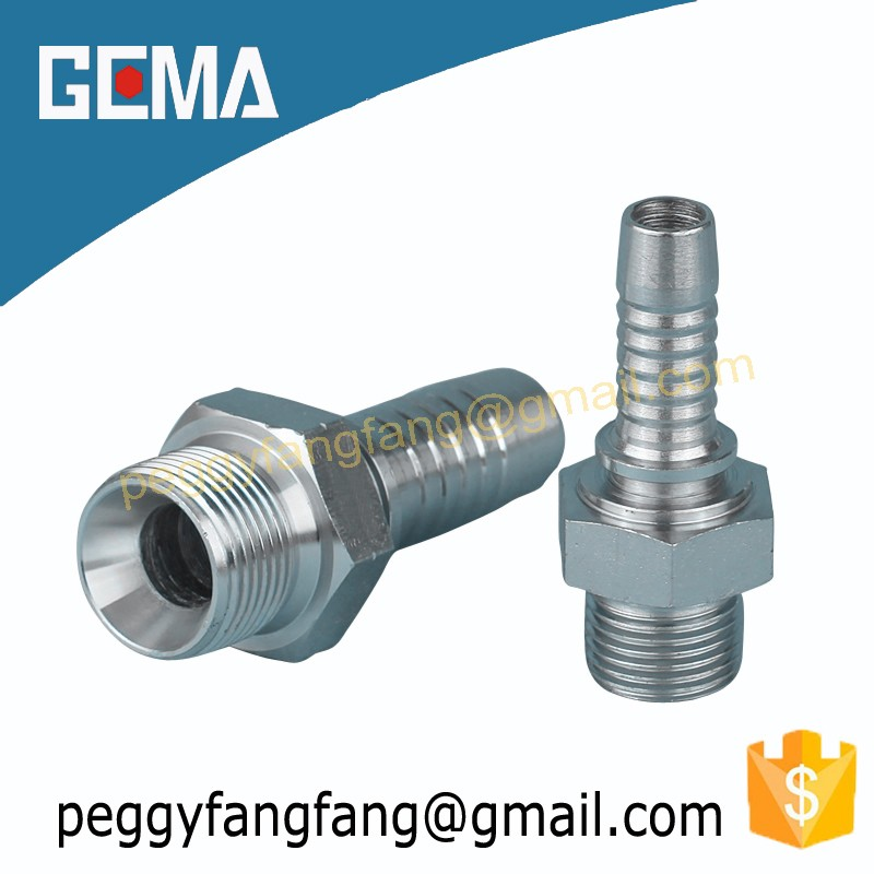 Bsp Male Double Use Fitting for 60 Cone Seat Fitting for Modern Fitting Stores male Hose Fitting with Inverted Flare 12611A