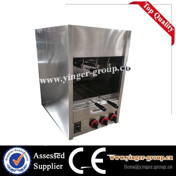 bbq making machine bbq Charcoal rotisserie trailer for sale