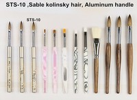 STS-10 Kolinsky hair nail art supplies nail art tools brush