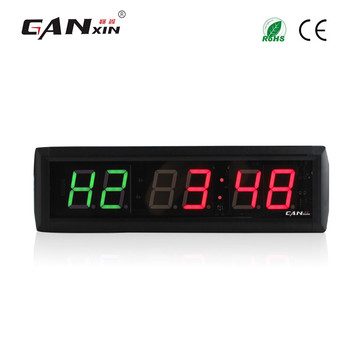 [Ganxin] 1.8'' Remote Control Led Gym Timer Digital  fitness Interval Training clock