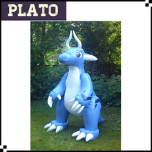 Stand inflatable cartoon dragon animal for promotion