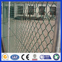 used hot dip galvanized/pvc coated chain link fence for sale