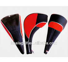 Unique golf head covers,New design PU golf driver head covers