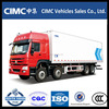 CIMC 8x4 refrigerated truck for hot sale