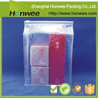 china alibaba trolley pvc clear bag with screen printing