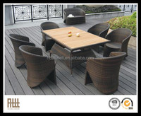 2015 New Design Stackable Used Restaurant Cast Aluminum Rattan Outdoor Wicker Patio Furniture AWRF5515A