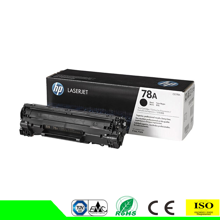 Compatible toner cartridge 12a 15a 35a 36a 53a 78a 85a 88a for hp printer