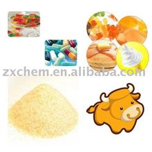 edible high gel bovine gelatin from bovine skin for pharmaceutical