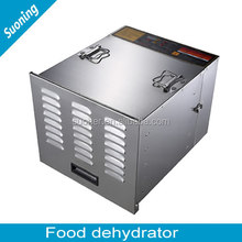 10 Layers Industrial Food Drying Machine / Commercial Food Dehydrators