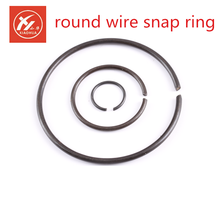 din 7993 titanium round wire snap rings and snap ring grooves. For shafts bores