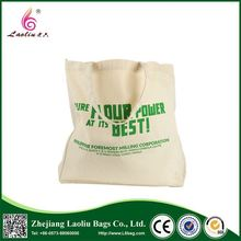Top fashion good quality folding shopping bag promotional cotton canvas bags