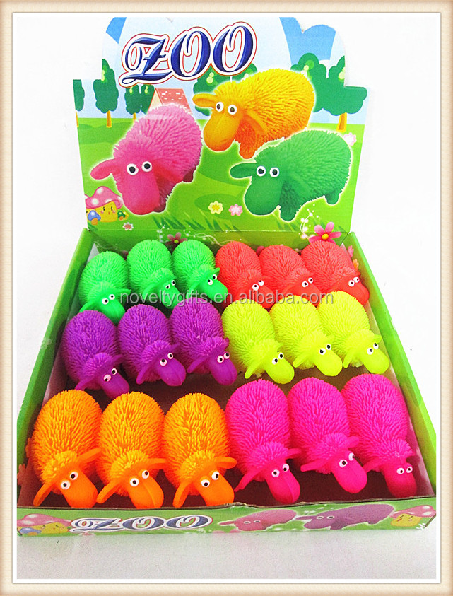 wholesale led toys sheep animal toys for kids