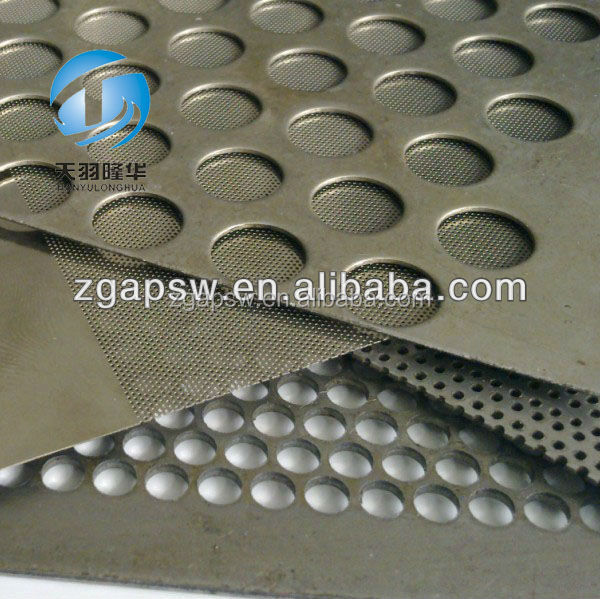 0.5-6mm Thick Stainless Steel Type Perforated Metal Mesh /Screen