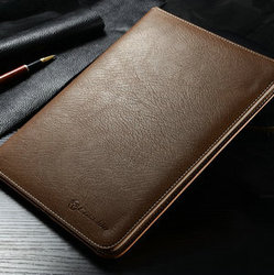 For iPad air 2 ,Original Leather case for iPad 6 ,tablet cases for iPad air 2