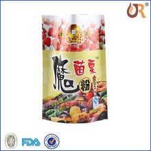 F-001 Biodegradable PE Food bag for supermarket