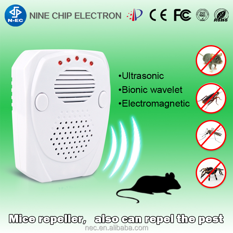 2017 Manufacturer first alert for squirrels and bug ultrasonic mini pest repeller