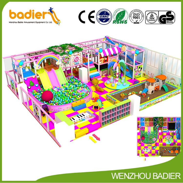 Professional made high quality kids playground for shopping center wholesale