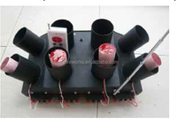 Remote control firing systems for stage fountains double rows fireworks party decoration